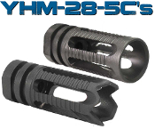"YHM Phantom Compensator/Flash Hider [1/2""-28 Thread AR-15]"