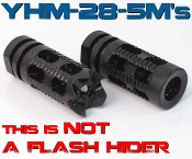 "YHM Phantom Compensator/Break [1/2""-28 Thread AR-15]"