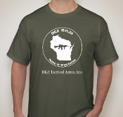 DEZ Rifles T-Shirt - OD Green