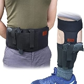 CREATRILL Bundle of Belly Band Holster + Ankle Holster for Conce