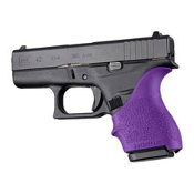 Hogue HandALL Beavertail Grip Sleeve G42 / G43 - Purple